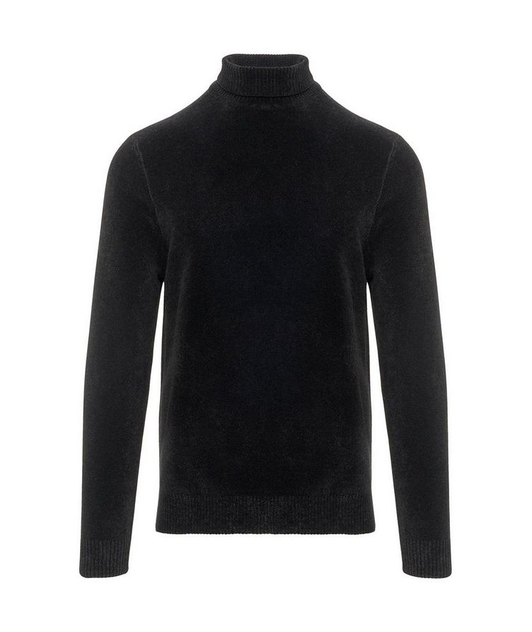 Textured Chenille Turtleneck image 0