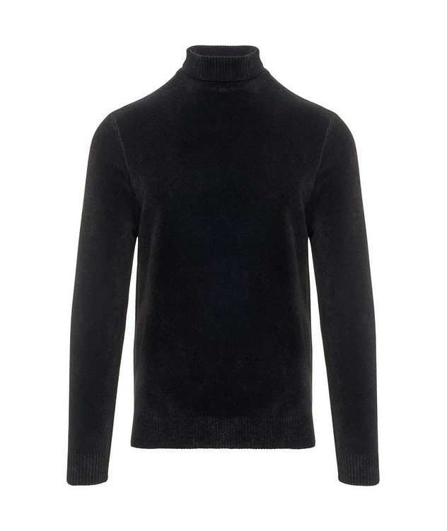 Textured Chenille Turtleneck picture 1