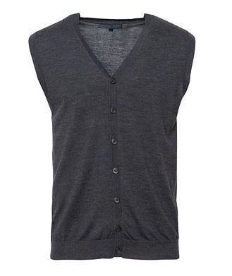 Patrick Assaraf Extra-Fine Merino Wool Vest