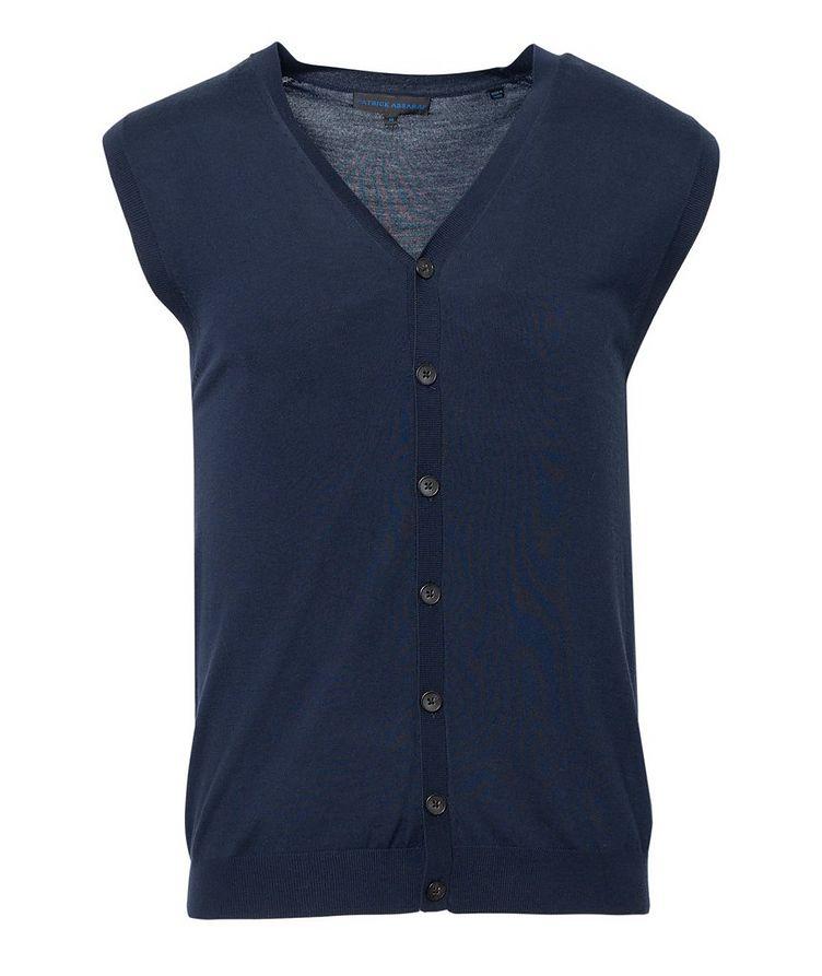 Extra-Fine Merino Wool Vest image 0