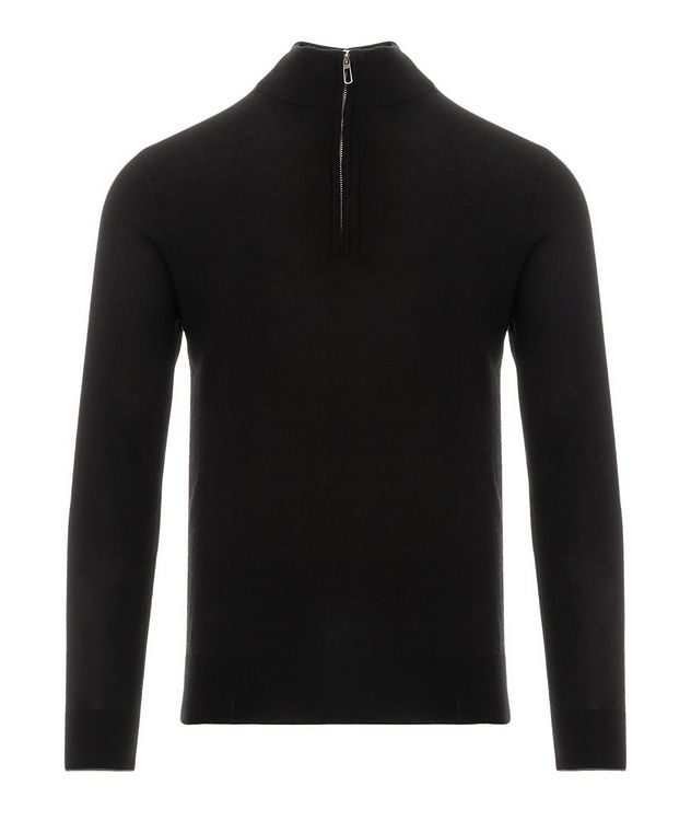 Half-Zip Merino Wool Sweater picture 1