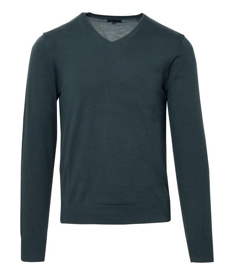 V-Neck Merino Sweater image 0