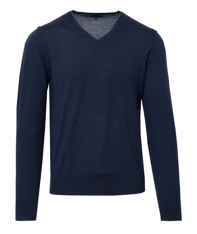 V-Neck Merino Sweater picture 1