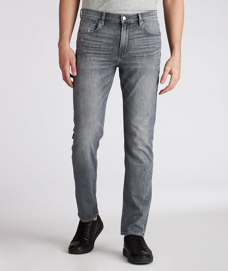 Adrien Slim Tapered Stretch Jeans image 1