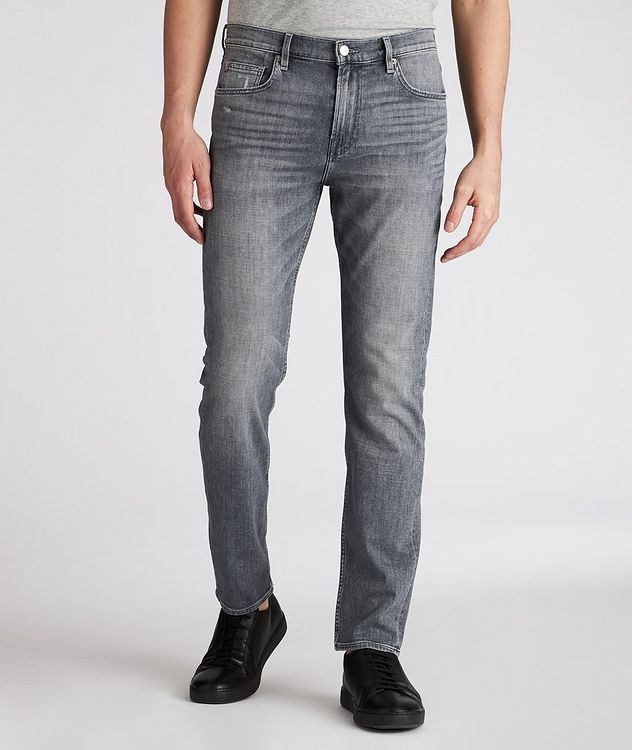 Adrien Slim Tapered Stretch Jeans picture 2