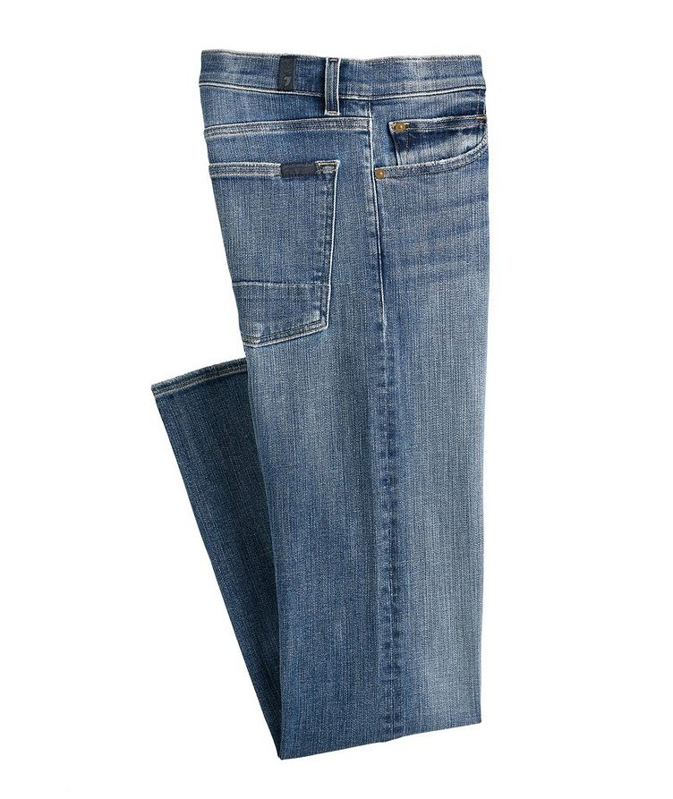 Adrien Slim Tapered Stretch Jeans image 0