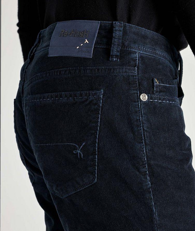 Rubens Corduroy Stretch-Cotton Pants image 2