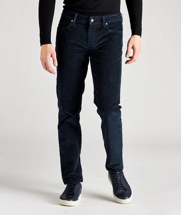 Rubens Corduroy Stretch-Cotton Pants picture 1