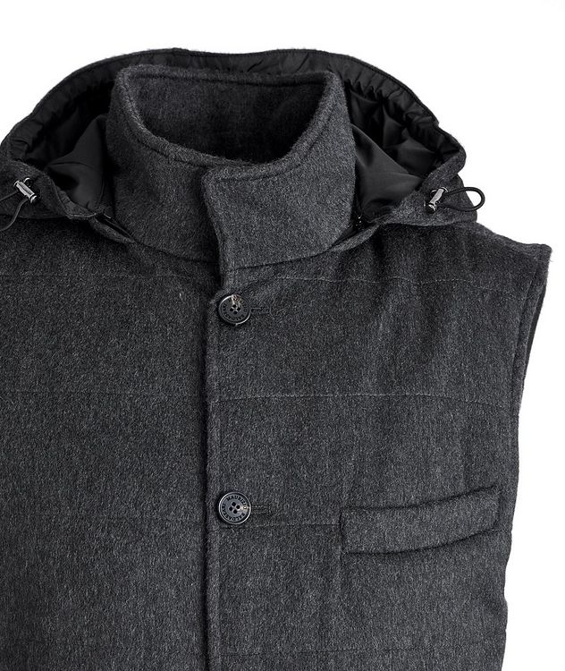 Hooded Cashmere Vest picture 2