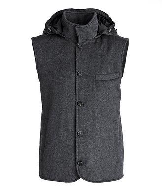Maurizio Baldassari Hooded Cashmere Vest