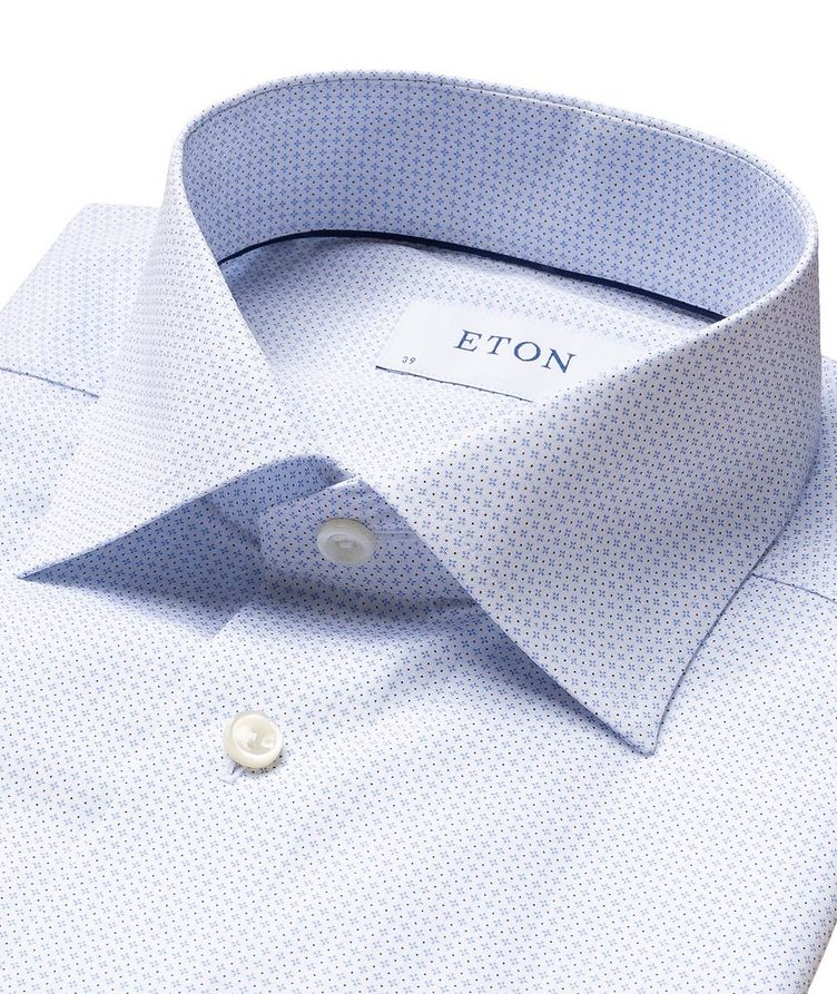 Slim Fit Neat-Printed Dress Shirt image 1
