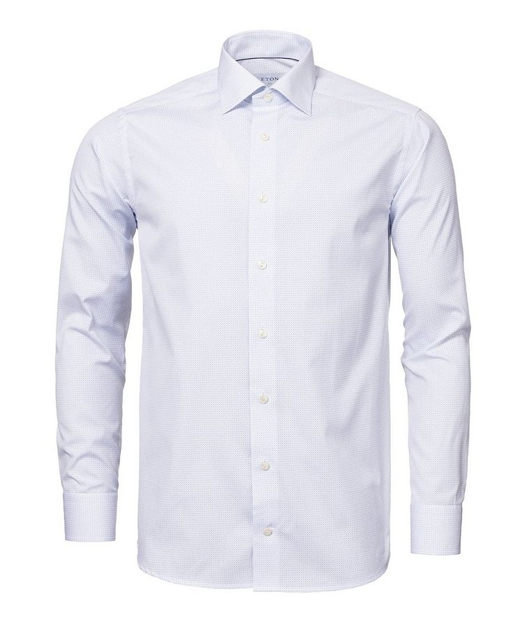 Slim Fit Neat-Printed Dress Shirt image 3