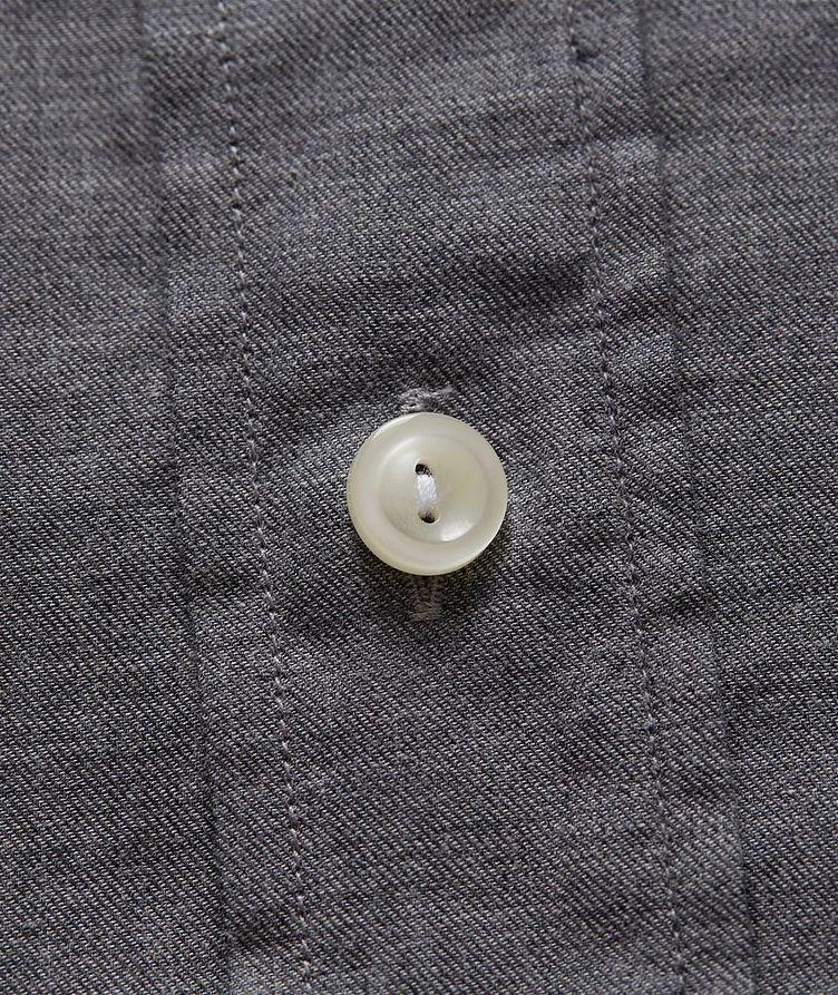 Slim Fit Soft Flannel Shirt image 2