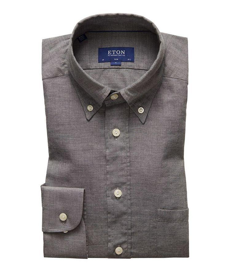 Slim Fit Soft Flannel Shirt image 0