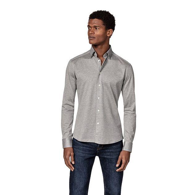 Slim Fit Soft Piqué Shirt picture 2