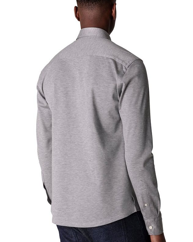 Slim Fit Soft Piqué Shirt picture 3