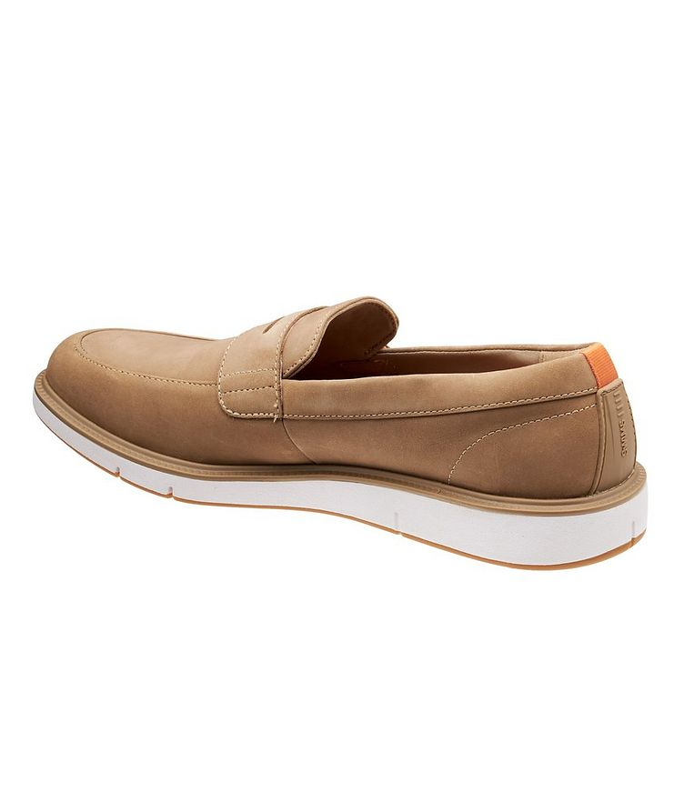 Motion Nubuck Penny Loafers image 1