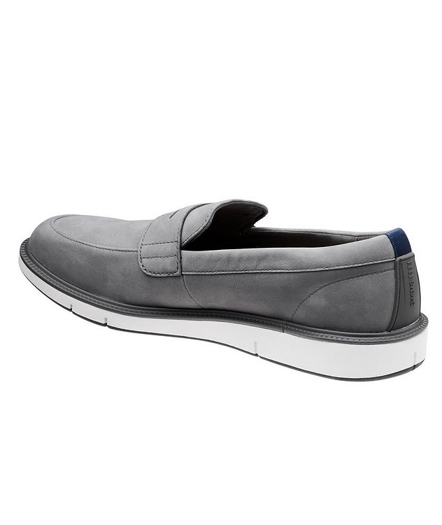 Motion Nubuck Penny Loafers picture 2