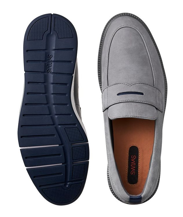 Motion Nubuck Penny Loafers picture 3