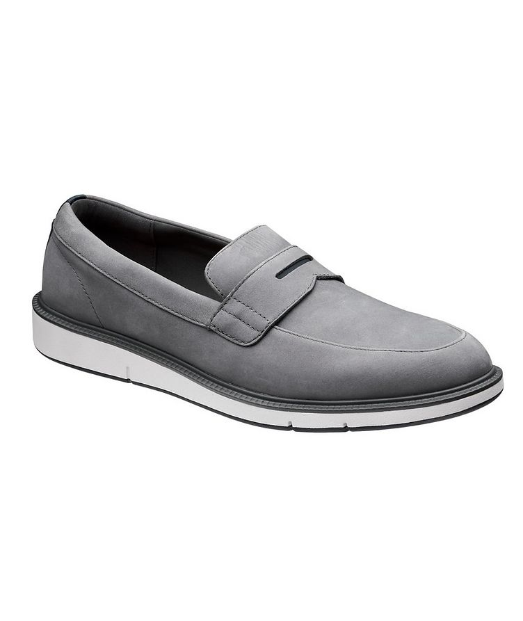 Motion Nubuck Penny Loafers image 0