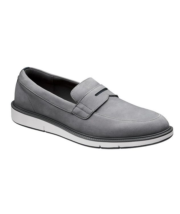 Motion Nubuck Penny Loafers picture 1