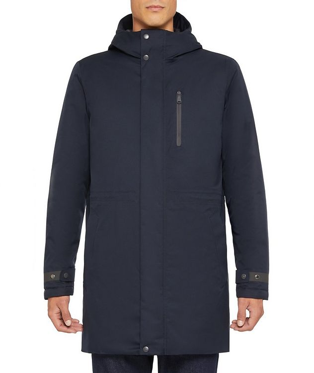 Clintford Hooded Long Parka picture 3