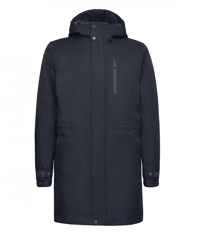Clintford Hooded Long Parka picture 1