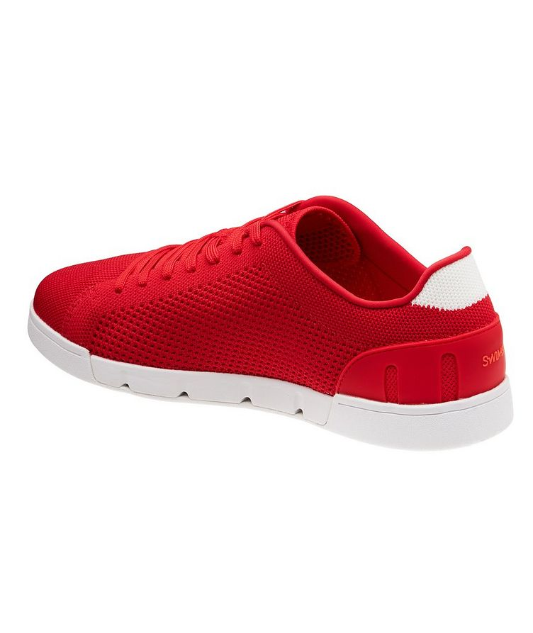Knit Low-Top Sneakers image 1