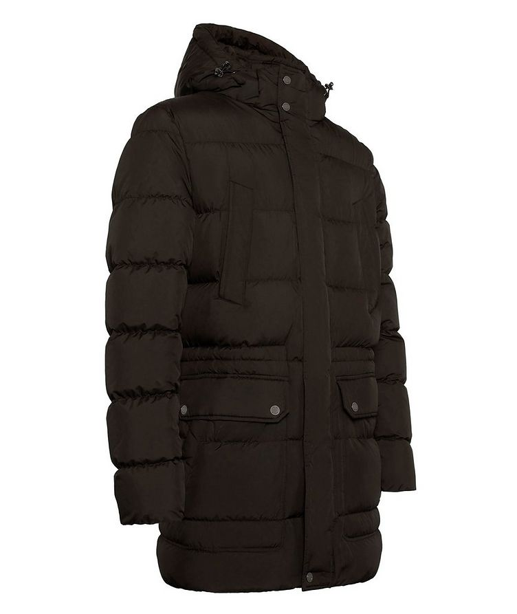 Kaspar Quilted Down Long Parka image 1
