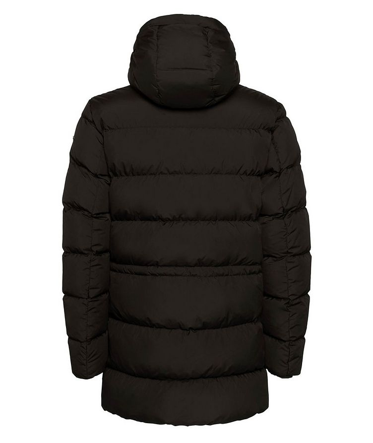 Kaspar Quilted Down Long Parka image 2