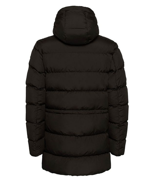 Kaspar Quilted Down Long Parka picture 3