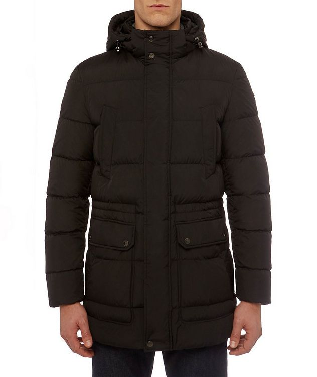 Kaspar Quilted Down Long Parka picture 4