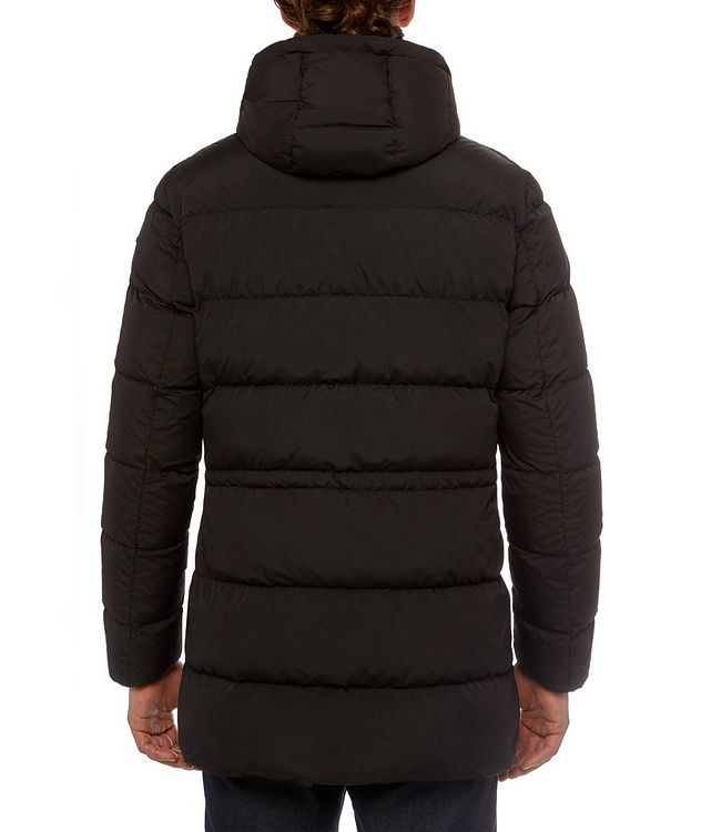 Kaspar Quilted Down Long Parka picture 6