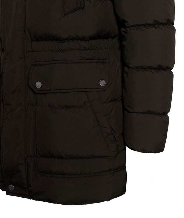 Kaspar Quilted Down Long Parka picture 8