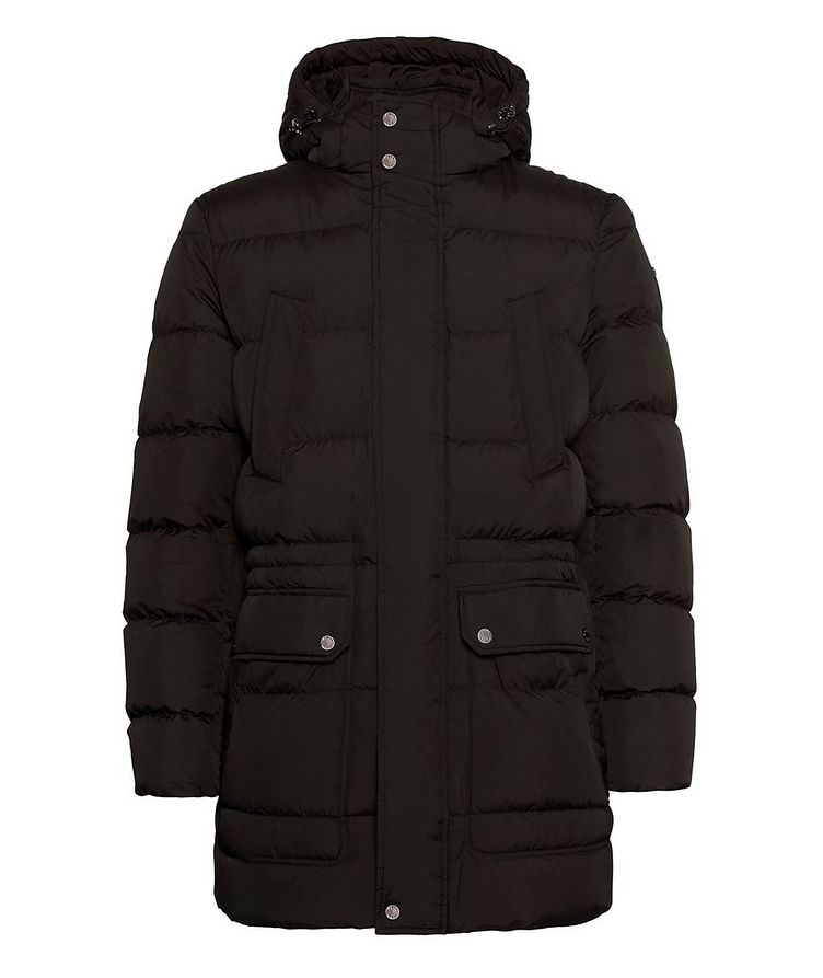 Kaspar Quilted Down Long Parka image 0