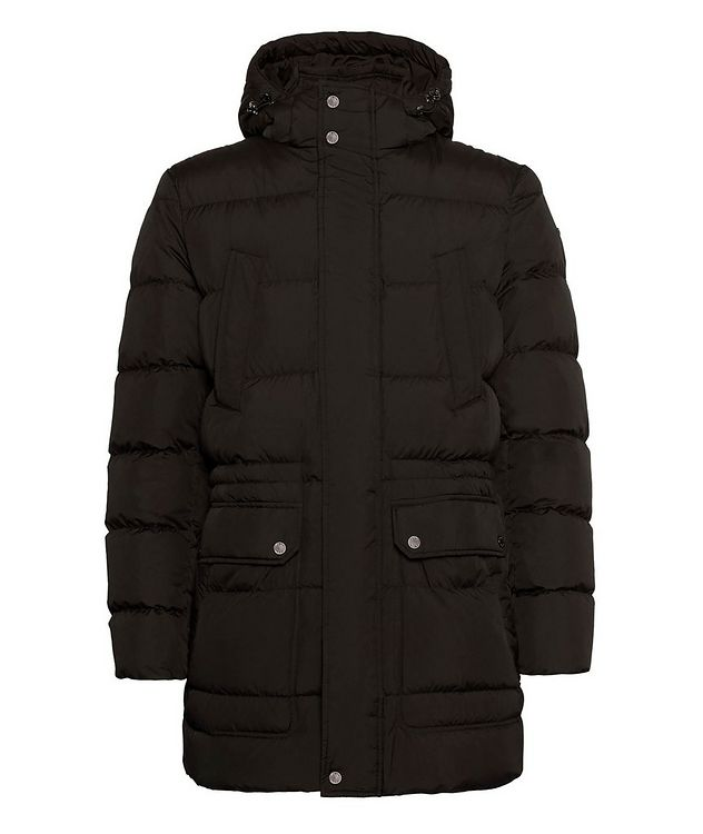 Kaspar Quilted Down Long Parka picture 1