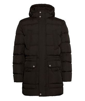 Geox Kaspar Quilted Down Long Parka