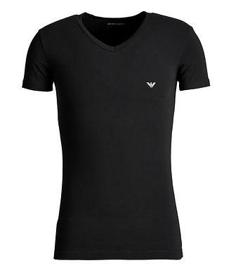 Emporio Armani Stretch-Cotton V-Neck T-Shirt