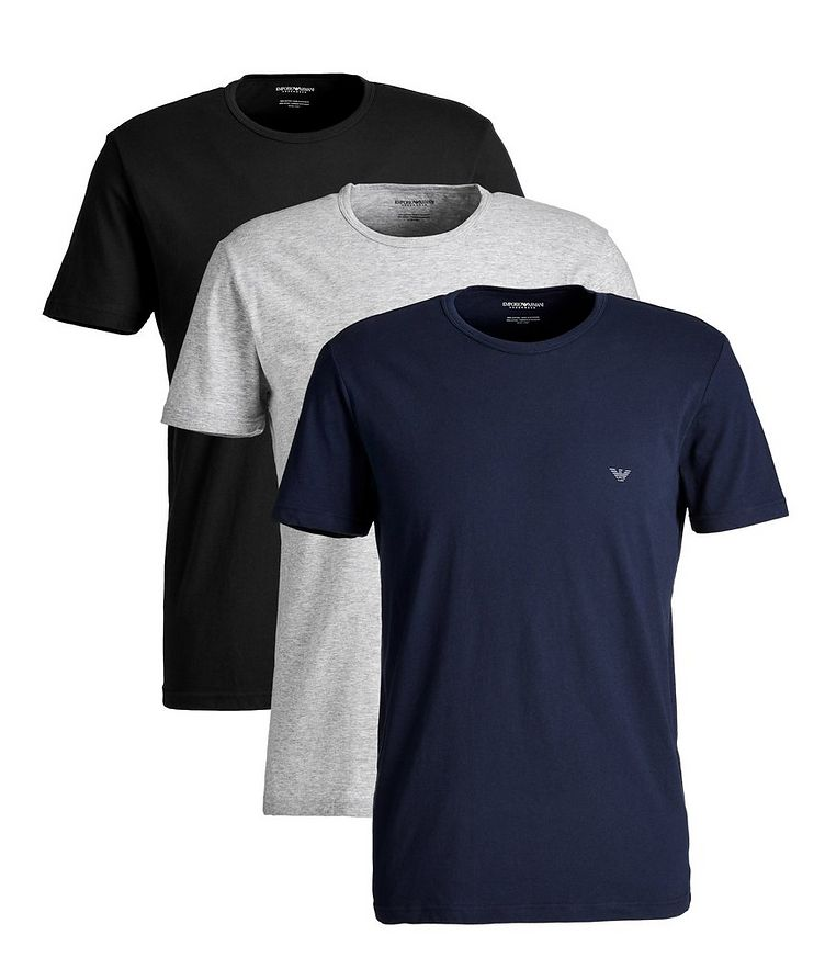 3-Pack Cotton T-Shirts image 0