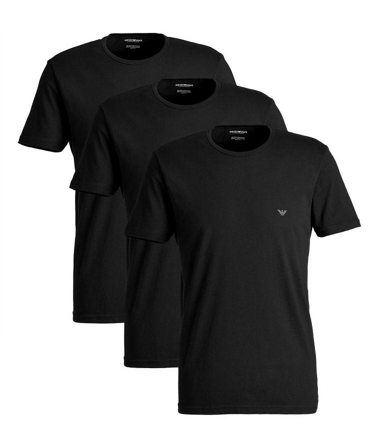 3-Pack Cotton T-Shirts image 0