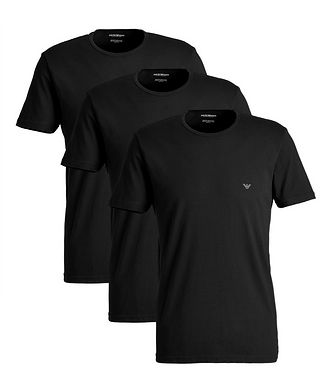 Emporio Armani 3-Pack Cotton T-Shirts