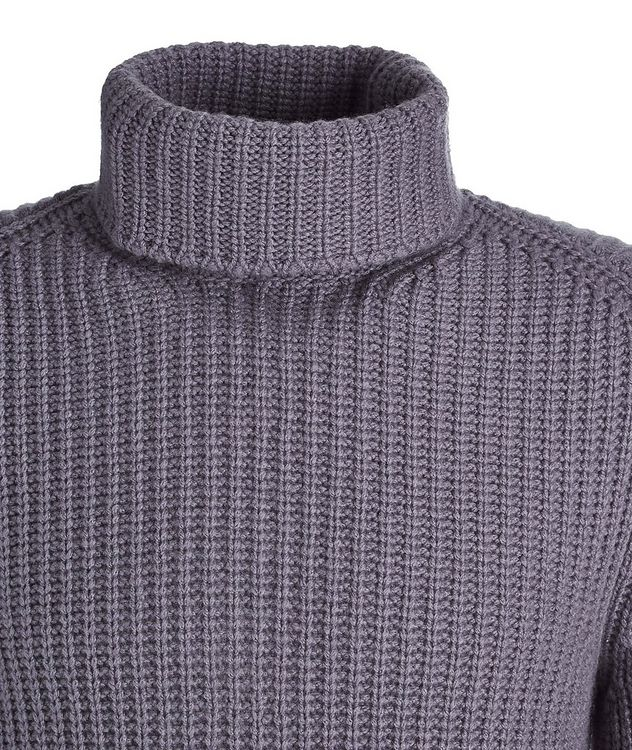 Cable Knit Cashmere Turtleneck picture 2