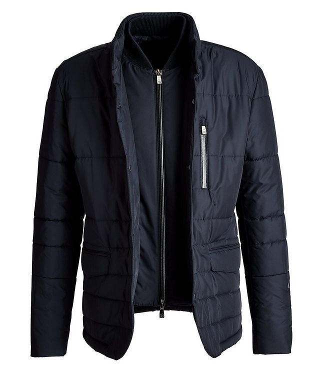 Water-Resistant Insulated Sports Jacket picture 2