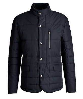 Corneliani Water-Resistant Insulated Sports Jacket