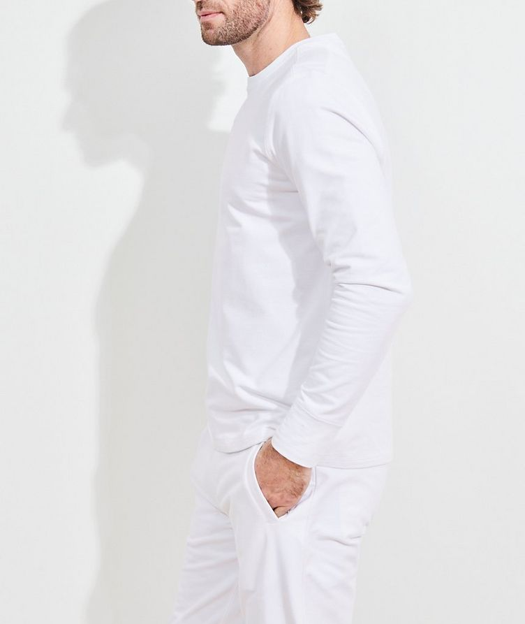 Stretch-Pima Cotton Sweatshirt image 2