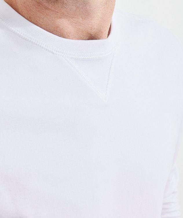 Stretch-Pima Cotton Sweatshirt picture 6