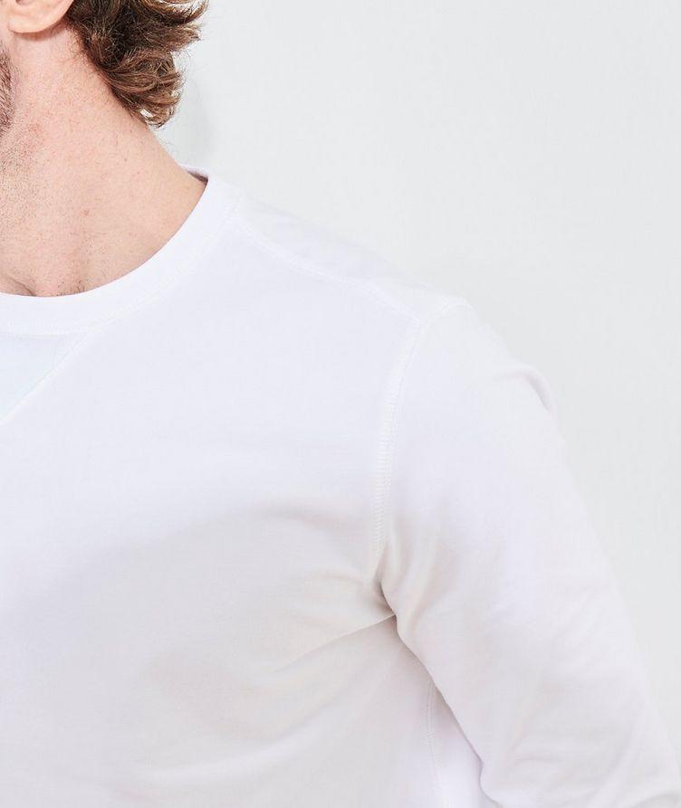 Stretch-Pima Cotton Sweatshirt image 6