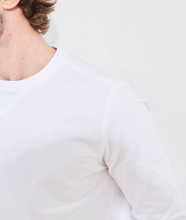 Stretch-Pima Cotton Sweatshirt picture 7