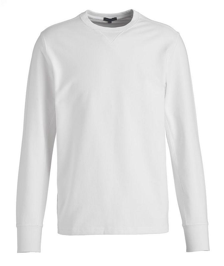 Stretch-Pima Cotton Sweatshirt image 0