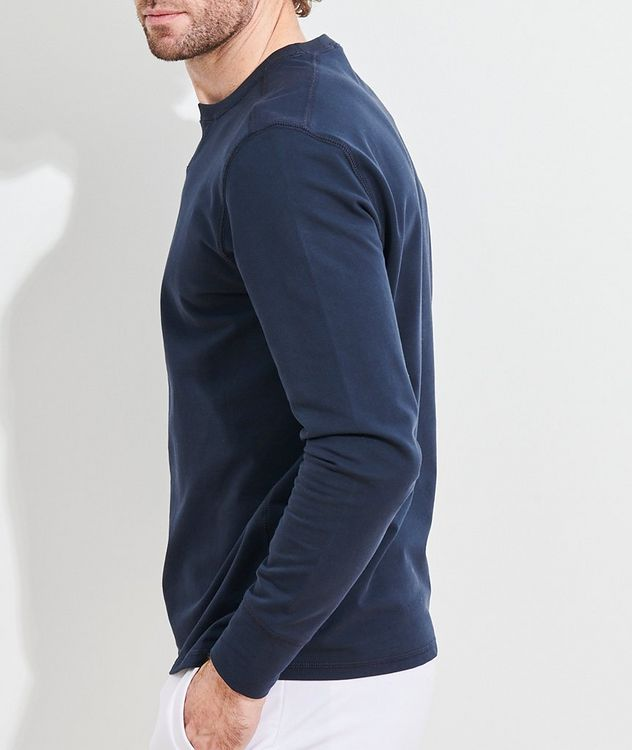 Stretch-Pima Cotton Sweatshirt picture 3
